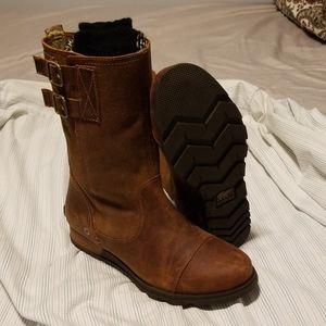 SorelMajor Pull-On Boot Grizzly Bear-British Tan